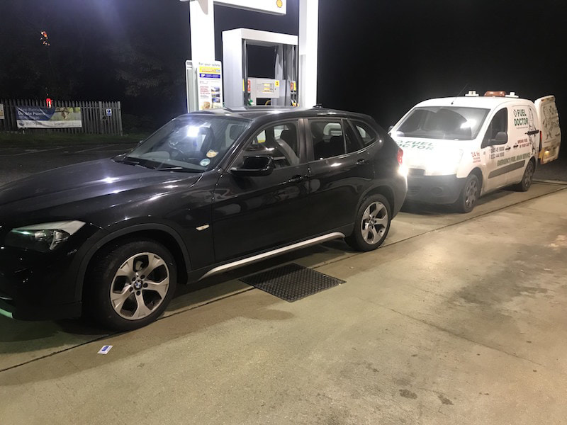 BMW X5 Wrong fuel services near Swindon