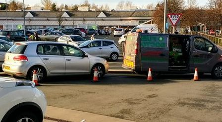 VW Puts wrong fuel in ASDA petrol station in Blackburn