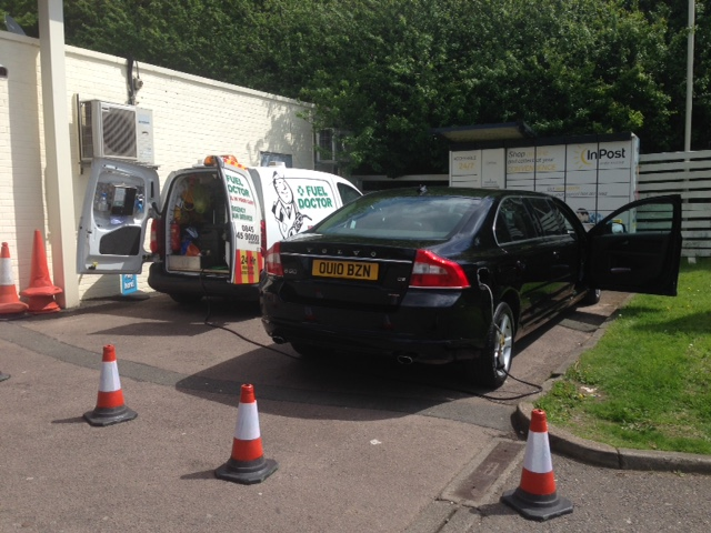 wrong fuel recovery on Volvo in Leicester