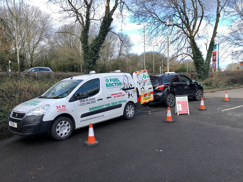 fuel doctor wrong fuel recovery in Leicester