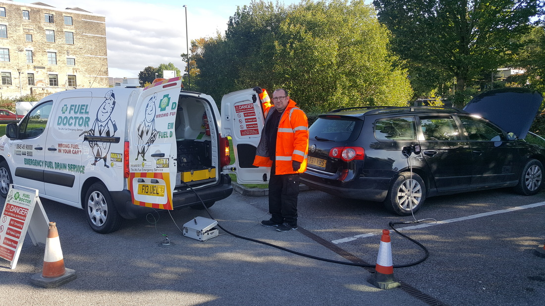 wrong fuel recovery Diesel VW Passat- Glossop wrong fuel recovery