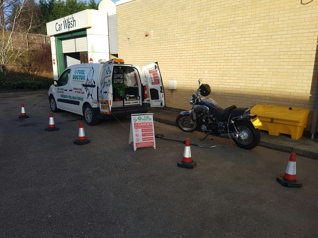 YAMAHA V-MAX FUEL RECOVERY IN MEADOWHEAD, SHEFFIELD