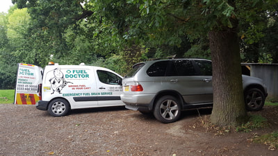 BMW X5 wrong fuel recovery Shrewsbury