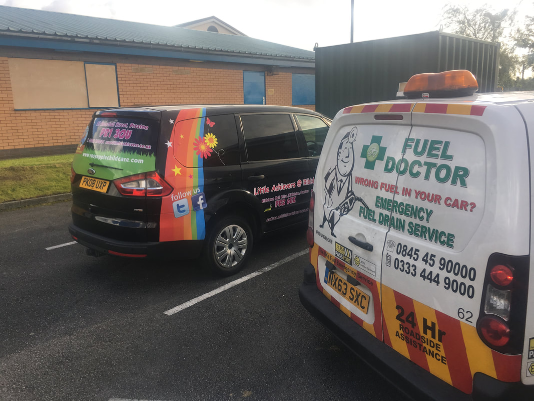 ford galaxy puts petrol in diesel in Preston