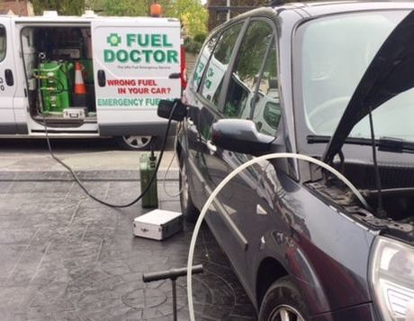 Renault Scenic wrong fuel in Walsall near Birmingham