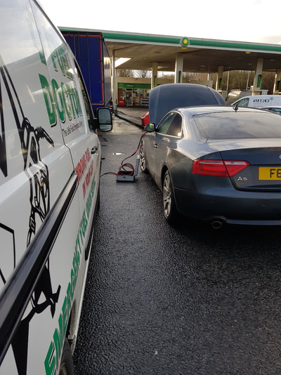 castleford west yorkshire fuel drain Audi A5