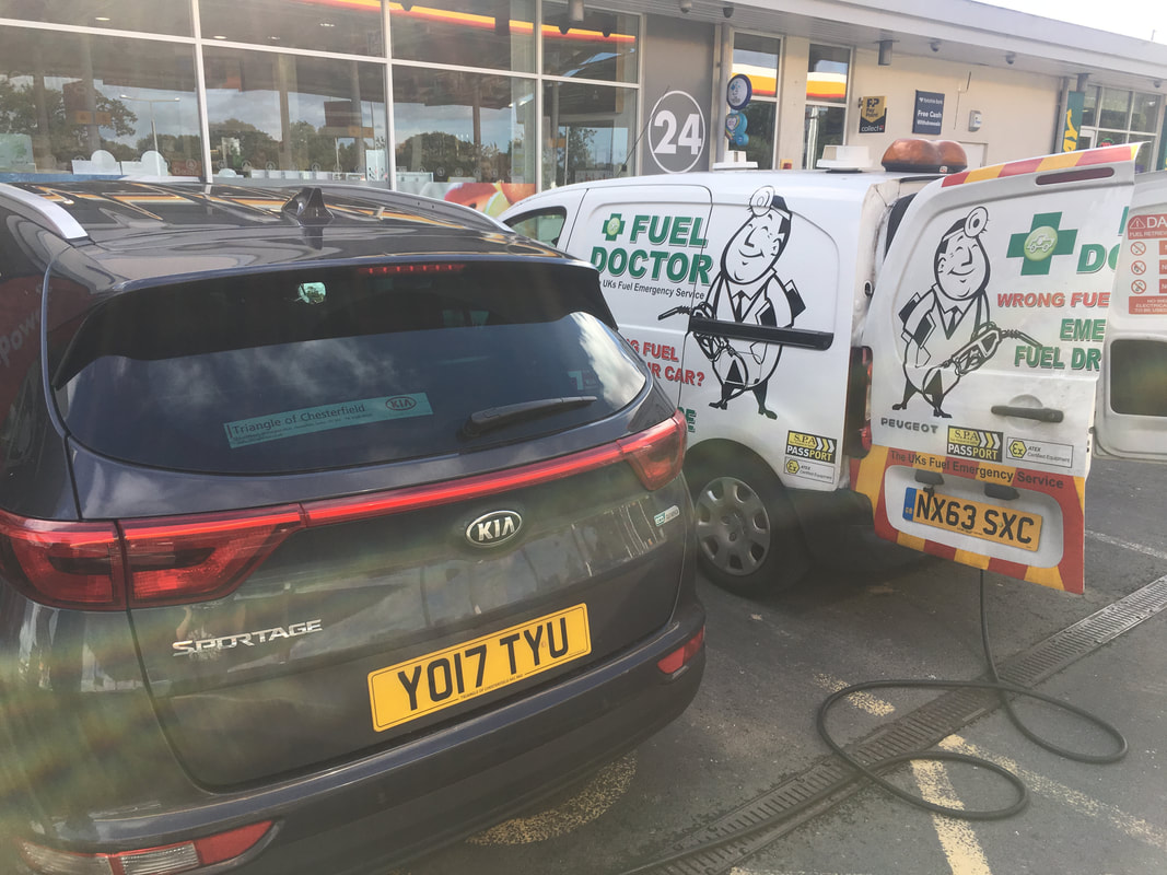 kia sportage puts petrol in diesel in Preston