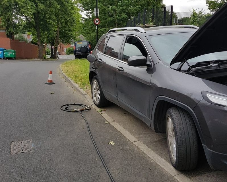 Jeep Cherokee puts petrol in diesel car in Sheffield East