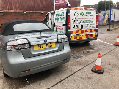 Saab puts wrong fuel in car in Walsall