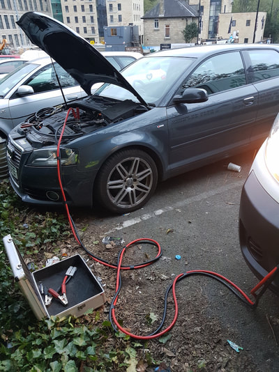 Wrong Fuel, Petrol into Diesel, Audi A3, Horsforth, Leeds