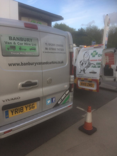 Wrong Fuel, Petrol into Diesel, Vauxhall Movano, Banbury